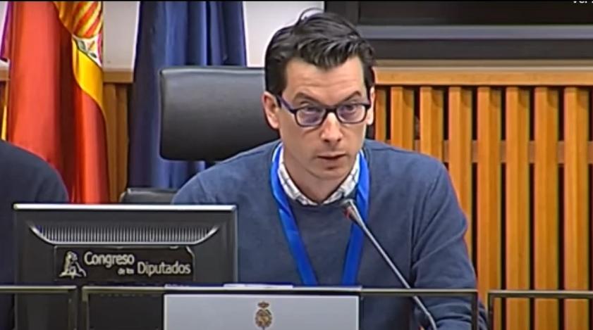 Luis Gonzalo Segura, propuesta restricción de la Justicia militar junto a ERC y Colectivo Anemoi
