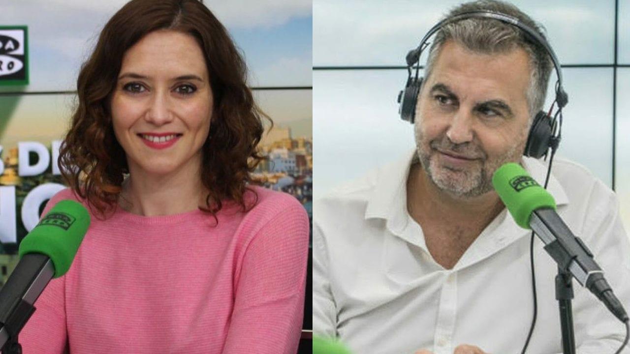 """El 'error' de Carlos Alsina al ensalzar el """"carismático liderazgo de Ayuso"""""""